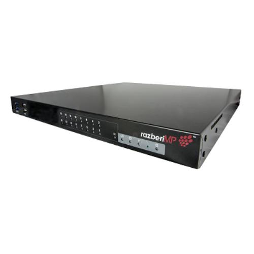 Razberi Professional 16 Port ServerSwitch With i7, RAZ-MPRO16-I7-2T, RAZ-MPRO16-I7-4T, RAZ-MPRO16-I7-6T, RAZ-MPRO16-I7-8T, RAZ-MPRO16-I7-12T, RAZ-MPRO16-I7-16T, RAZ-MPRO16-I7-24T