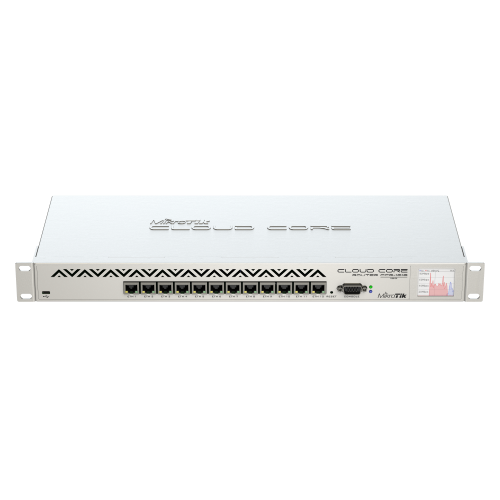 Mikrotik 12 Port Cloud Core Router, CCR1016-12G