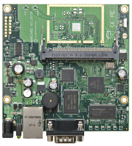 MikroTik 1 Port RouterBoard, RB411AH
