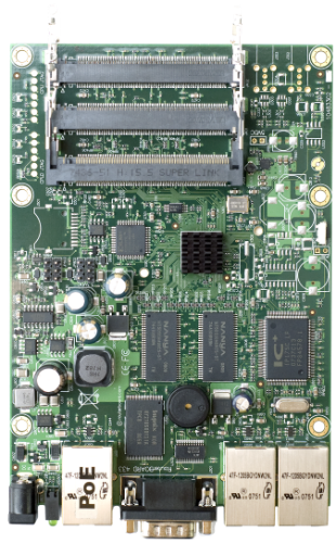 MikroTik 3 Port 300Mhz RouterBoard, RB433