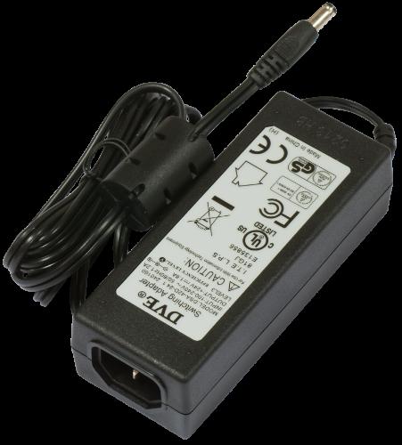 MikroTik 24V 1.6A power supply + power plug, 24HPOW
