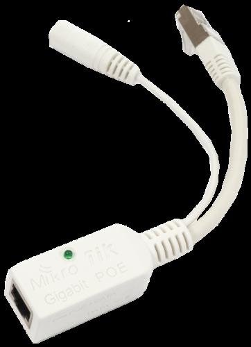 MikroTik Gigabit Passive PoE Injector, RBGPOE