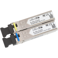 MikroTik Pair of SFP Modules, S-35LC20D + S-53LC20D, S-3553LC20D