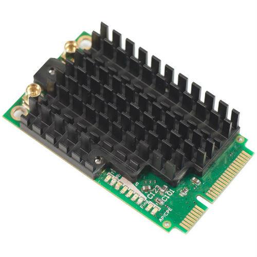 MikroTIk AR9580 5GHz miniPCI-e Card with MMCX, R11e-5HnD
