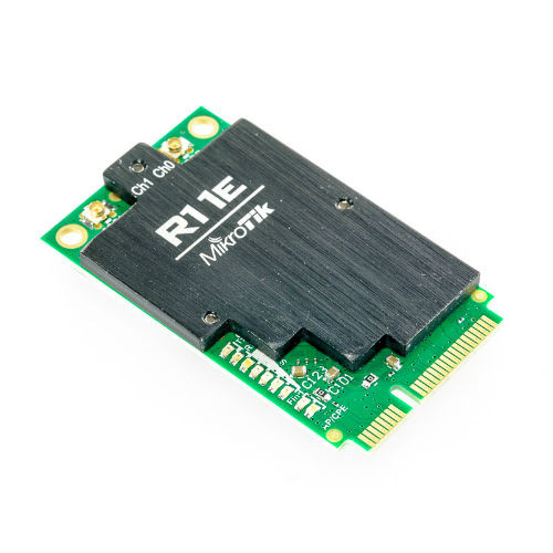 MikroTIk AR9580 2GHz Lower power version miniPC Card, R11e-2HnD
