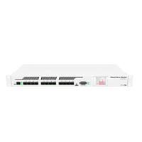MikroTik 12 SFP ports and 1 SFP+ Port Cloud Core Router, CCR1016-12S-1S+