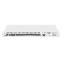 MikroTIk 12 Port 4 SFP Port Cloud Core Router, CCR1036-12G-4S
