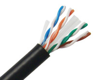 Primus CAT 5E Ethernet Cable, Indoor Unshielded PVC, CM Rated, Solid Copper, 24 AWG - 1000ft, All Colors, C5U-373BK, C5U-379WH, C5U-376GY, C5U-375GR, C5U-374BL, C5U-377PR, C5U-378RD, C5U-2447OR, C5U-380YL