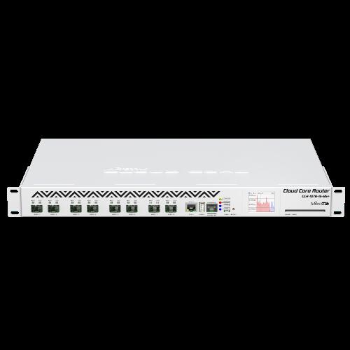 MikroTik 8 10G SFP+ ports 72 Cores 1 2GHz per Core Cloud Core Router,  CCR1072-1G-8S+