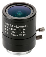 Axis 2.4-6mm Manual Iris Lens, 5503-181
