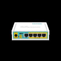 MikroTik hEX PoE lite, Small Five Port Ethernet Router, RB750UPr2