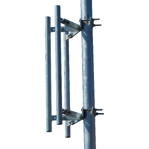 """WBH, Sector Antenna Mount with 3 36"""" Masts, M-TOW-3P-36"""