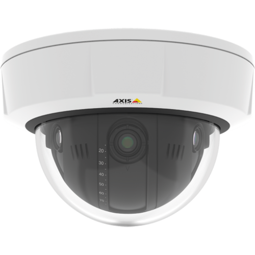 Axis Q3708-PVE Fixed Dome Network Camera, 0801-001