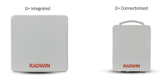 Radwin 2000D-Plus, 750 Mbps Wireless Bridge 4.9GHz Band, All Models, RW-2049-D100, RW-2049-D200