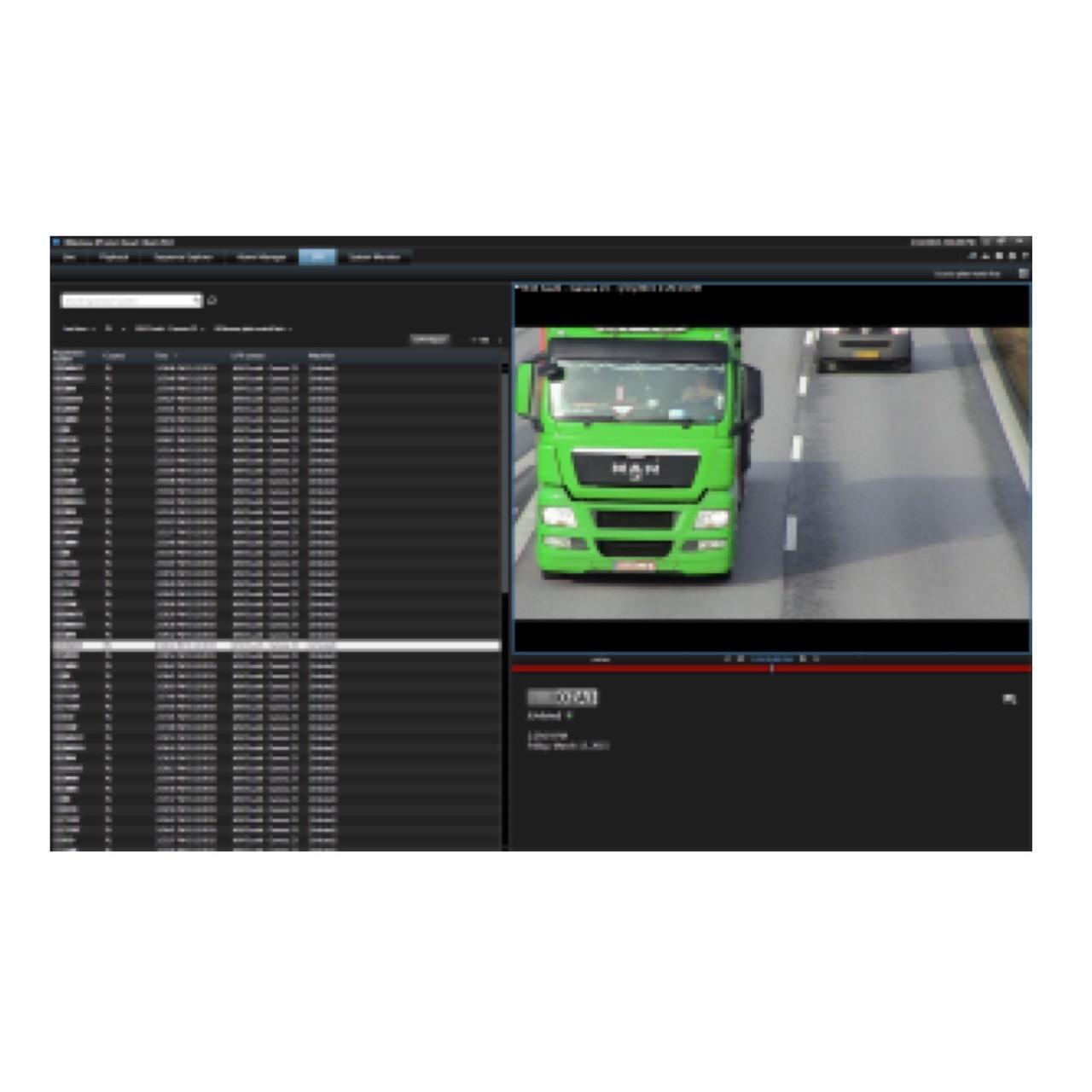 Milestone XProtect LPR Camera License,  XPLPRCL