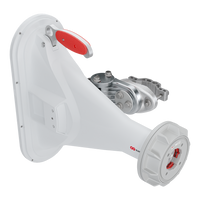 RF-Elements, 5GHz Asymmetrical Horn, TwistPort 90°, 16dBi , HG3-TP-A90