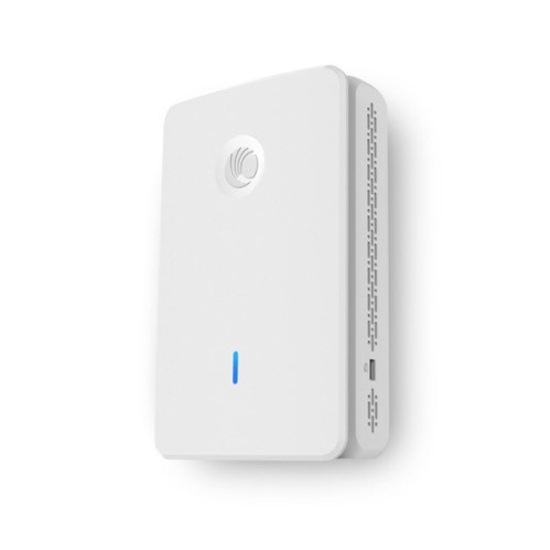 Cambium cnPilot e430H Indoor (FCC) 802.11ac Wave 2, Wall plate WLAN AP with single-gang wall bracket, PL-E430H00A-US