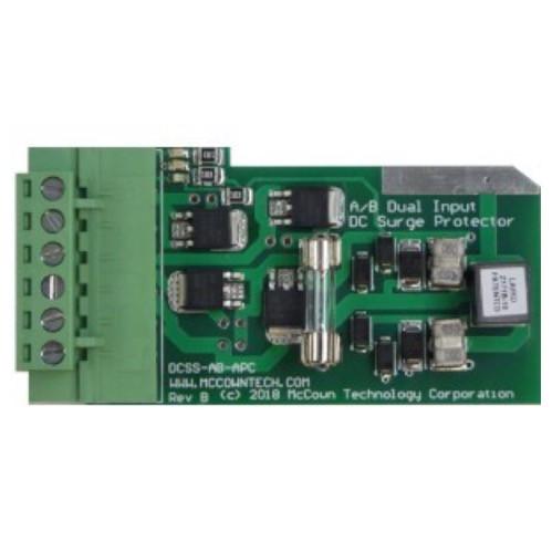 McCown Technology Rack Mount Dual Feed A/B Power Line Surge Protector, 800-DCSS-AB-APC