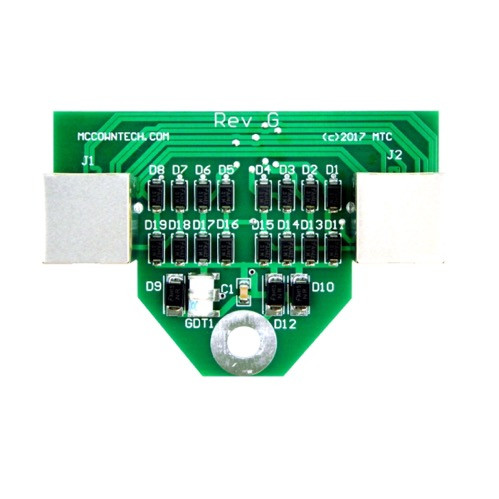 McCown Technology Outdoor 1000 Mbps Replacement PCB, 800-GIGE-SS-HV-PCB