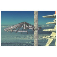 McCown Technology Ice Shield for Angle Iron Tower, 800-M-TOW-ANGLE-ICE