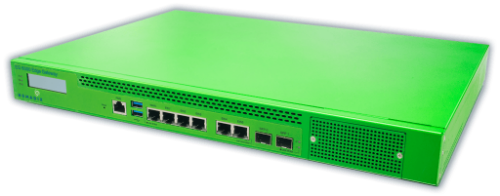 Nomadix, EG 6000 Edge Gateway, 500 doors, NSE Software, Up to 3 Gb, 1 Year  warranty, support and license, 969-6000-500