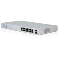 Ubiquiti Networks, UniFi Switch Gen2, Gigabit 16-Port, USW-16-POE