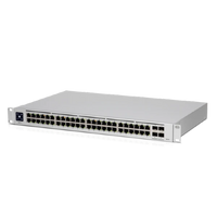Ubiquiti Networks, UniFi Switch Pro, (48) Gigabit RJ45 ports, (4) 10G SFP+ ports, Layer 3, USW-Pro-48