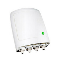 MultiHaul TG TU compact, 60Ghz, 90°, 1000Mbps, 1 RJ-45, MK & PoE injector included, IP-67, White, MH-T260-CNN-PoE-MWB