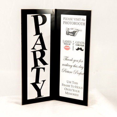 Party Photo Booth Frame