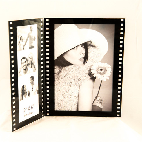 Combo 2x6 and 4x6 photo booth frame