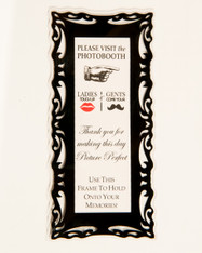 "Magnetic Photo Booth Frames for 2"" X 6"" Photo Strips"