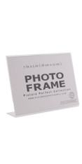 7x5 Photo Frame Clear Acrylic Picture Frame Horizontal Sign holder 7 x 5