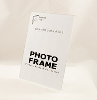 5x7 Photo Frame Clear Acrylic Picture Frame Vertical Sign holder 5 x 7