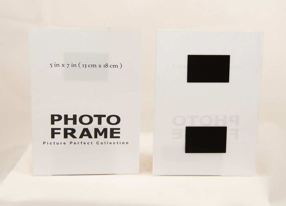 5x7 Acrylic Magnetic Photo Frame Sign Holder Fridge Magnet Picture