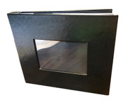 Photo Booth Album 4x6 Slip in Plastic Slots Leatherette Photo Album 4x6 Photos