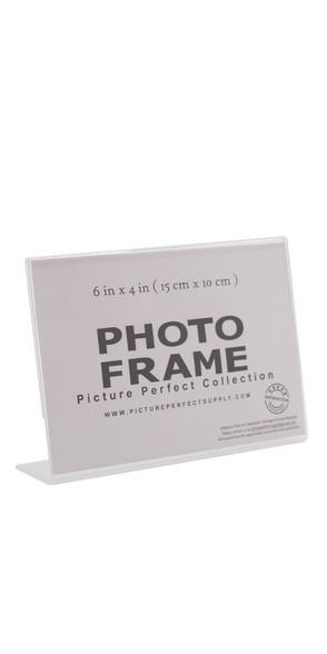 Clear 4x6 photo frame