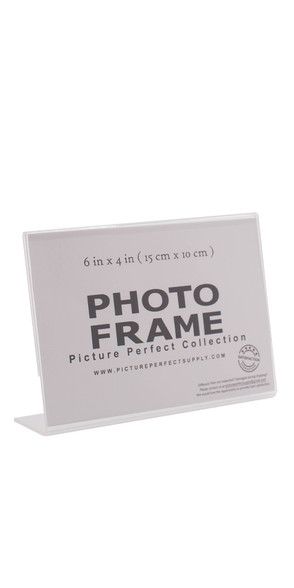 Clear 4x6 photo frame