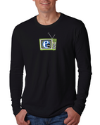 6abc Men's Retro TV Next Level Cotton Long Sleeve Crew