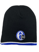 6abc Adult Three-Color Beanie