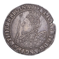 Great Britain Elizabeth I 7th coinage Crown VF