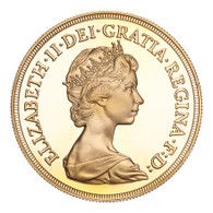 Great Britain Elizabeth II 1984 Gold 5 Pounds FDC