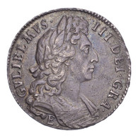 Great Britain William III 1696-E Half-Crown GVF, light weakness