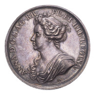 Great Britain Anne 1704 Silver Medal