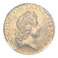 George I 1726 Gold Guinea NGC MS62