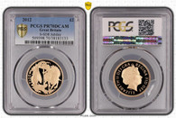 Great Britain Elizabeth II 2012 Gold 2 Pounds Proof PCGS PR70 DCAM #38183133