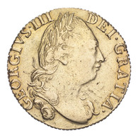 Great Britain George III 1786 Gold Guinea About very fine, hairlines