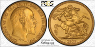 Great Britain Edward VII 1902 Gold 2 Pounds Matte proof PCGS PR64 #81619293