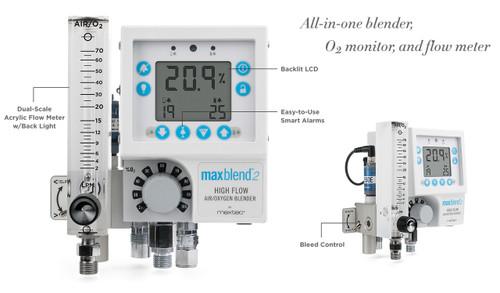MaxBlend2 Bird 0-3 LPM Low Flow Blender