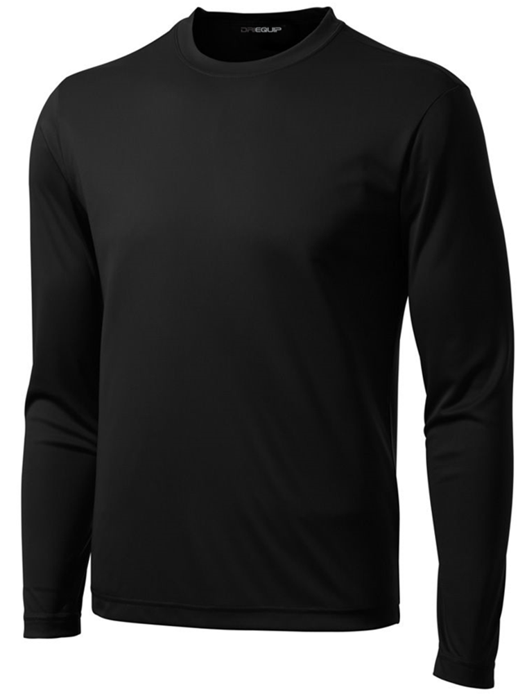 d1ea4db0 DRI-EQUIP Mens Long Sleeve Moisture Wicking Athletic Shirts