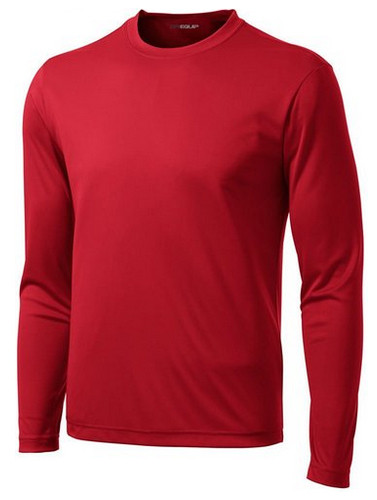 7d3ec2a4d315 ... DRI-EQUIP Youth Long Sleeve Moisture Wicking Athletic Shirts. True Red